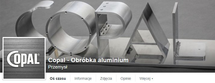 copal aluminium machining on facebook